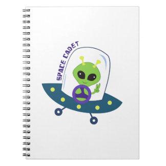 Space Cadet Spiral Notebooks