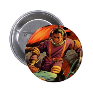 Space Cadet Pinback Buttons