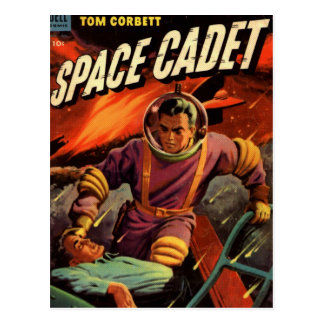 Space Cadet Postcard
