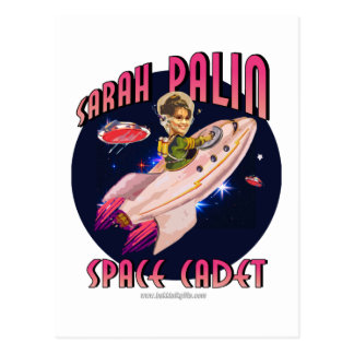 Space Cadet... Postcard