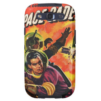 Space Cadet Pulp Comic case Galaxy SIII Cover
