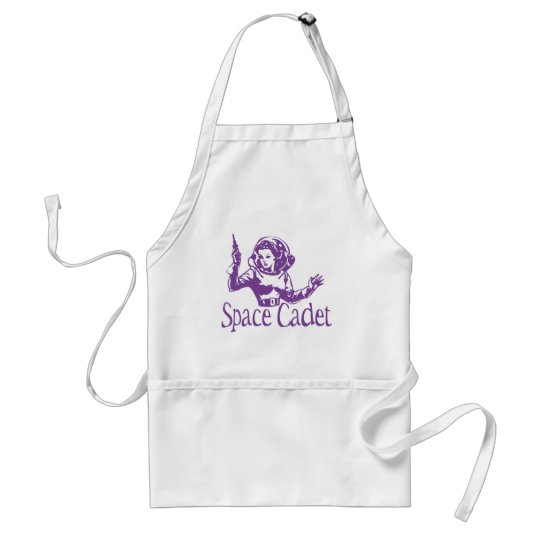 Space Cadet Purple Adult Apron
