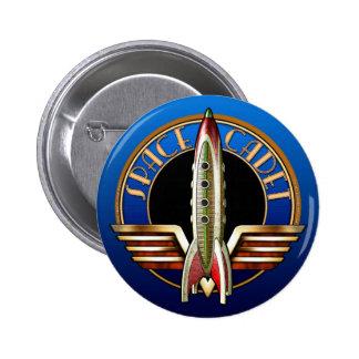 Space Cadet Round Button