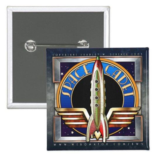Space Cadet Square Button