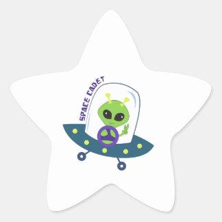 Space Cadet Star Sticker