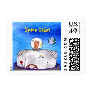 Space Cadet TinCan SpaceMan Postage