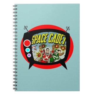 Space Cadet TV Notebooks
