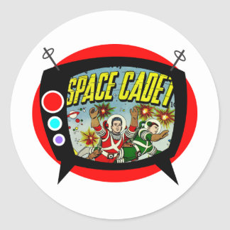 Space Cadet TV Stickers