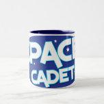 SPACE CADET Two-Tone COFFEE MUG