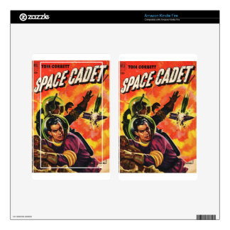 Space Cadets Decals For Kindle Fire