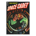 Space Cadets in Small Rocket Card