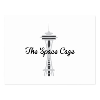 Space Cage Postcard