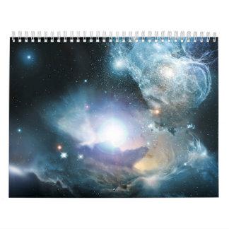 Space calendar 18 months