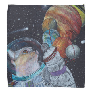 Space Cat Bandana
