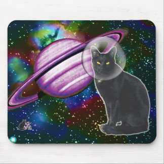 Space-Cat Cosmo Mouse Pad
