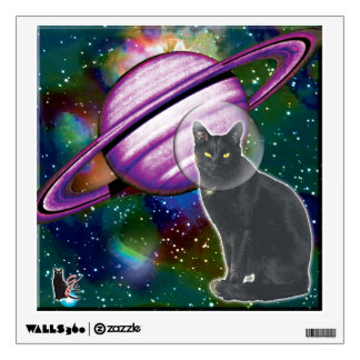 Space-Cat Cosmo PixPane(TM) Wall Decal