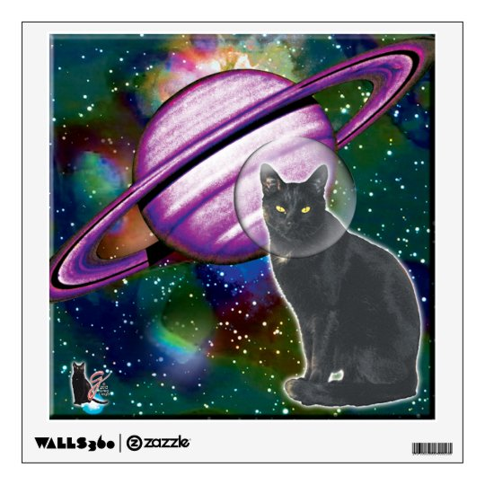 Space-Cat Cosmo Wall Sticker