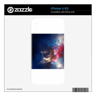Space Cat Galaxy Decals For The iPhone 4S