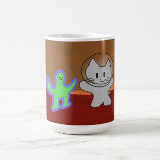 Space Cat Goes To Mars Mug