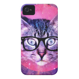Space Cat iPhone 4 Case-Mate Case