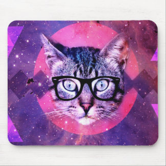 Space Cat Mouse Pad