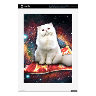 Space cat pizza PS3 decal