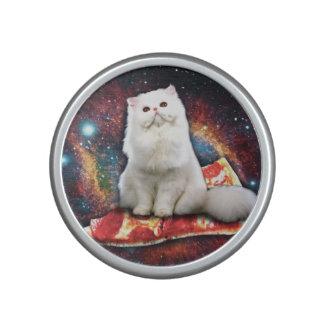 Space cat pizza speaker