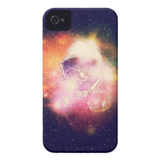 Space Cat Portrait2 Case-Mate iPhone 4 Case