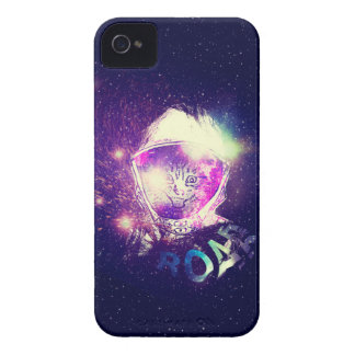Space Cat Portrait 3 iPhone 4 Case-Mate Case