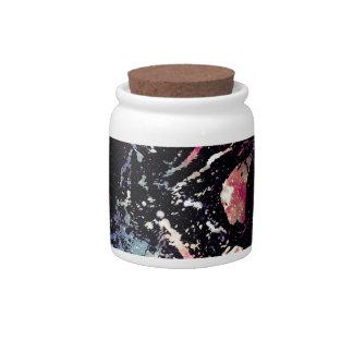 Space Cat Portrait Candy Dish