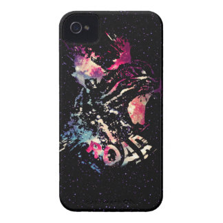 Space Cat Portrait iPhone 4 Case-Mate Case