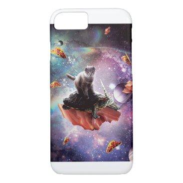 Space Cat Riding Turtle Unicorn - Bacon & Taco iPhone 8/7 Case