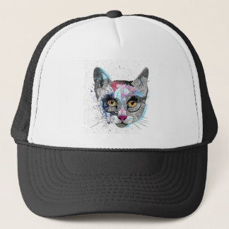 Space Cat Trucker Hat