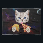 "Space Cat with taco and pizza Kitchen Towel<br><div class=""desc"">pizza cat, cat memes, funny cats, space cat , taco cat, cute cats , galaxy kitty cosmic universe , kittens cosmos meow meme, pet cute feline lolcats , </div>"