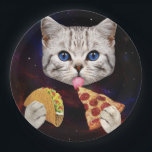 "Space Cat with taco and pizza Paper Plate<br><div class=""desc"">cat&#160;, galaxy&#160;, cute&#160;, pet&#160;, meow&#160;, &quot;funny cat&quot;&#160;, &quot;cat meme&quot;&#160;, &quot;taco cat&quot;&#160;, &quot;pizza cat&quot;&#160;, &quot;space cat&quot;&#160;, pussy&#160;, meme&#160;, cats&#160;, funny&#160;, cosmos&#160;, kittens&#160;, kitty&#160;, universe&#160;, &quot;cute cat&quot;&#160;, feline&#160;, lolcats&#160;, &quot;lol cats&quot;&#160;, &quot;cat funny&quot;&#160;, &quot;funny kittens&#160;&quot;, &quot;space cats&#160;&quot;, &quot;cats in space&quot;&#160;, &quot;cat cute&quot;&#160;, &quot;cat in space&quot;&#160;, &quot;meme cat&quot;&#160;, &quot;funny kitten&quot;&#160;, &quot;cosmic cat&quot;&#160;, &quot;cat with...</div>"