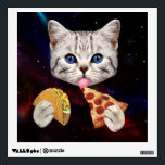 """Space Cat with taco and pizza Wall Sticker<br><div class=""""desc"""">cat&#160;, galaxy&#160;, cute&#160;, pet&#160;, meow&#160;, &quot;funny cat&quot;&#160;, &quot;cat meme&quot;&#160;, &quot;taco cat&quot;&#160;, &quot;pizza cat&quot;&#160;, &quot;space cat&quot;&#160;, pussy&#160;, meme&#160;, cats&#160;, funny&#160;, cosmos&#160;, kittens&#160;, kitty&#160;, universe&#160;, &quot;cute cat&quot;&#160;, feline&#160;, lolcats&#160;, &quot;lol cats&quot;&#160;, &quot;cat funny&quot;&#160;, &quot;funny kittens&#160;&quot;, &quot;space cats&#160;&quot;, &quot;cats in space&quot;&#160;, &quot;cat cute&quot;&#160;, &quot;cat in space&quot;&#160;, &quot;meme cat&quot;&#160;, &quot;funny kitten&quot;&#160;, &quot;cosmic cat&quot;&#160;, &quot;cat with...</div>"""