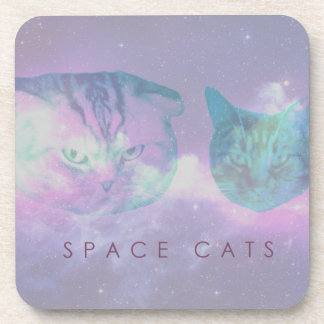Space Cats Coaster