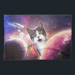 "Space Cats LOL Funny Hand Towel<br><div class=""desc"">Brighten your day with a fun and hilarious LOL &quot;Space Cat&quot; product!</div>"