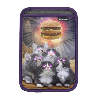 space cats looking for the burger sleeve for iPad mini