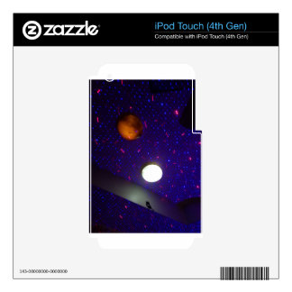 Space Ceiling iPod Touch 4G Decal