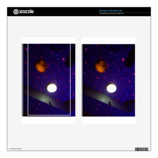Space Ceiling Kindle Fire Decal