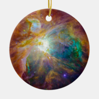 Space - Chaos in Orion Ceramic Ornament