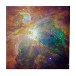 Space - Chaos in Orion Small Square Tile