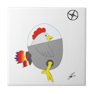 Space Chicken Tile