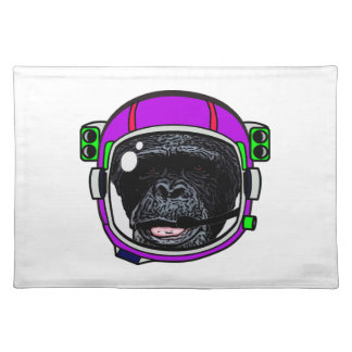 Space Chimp Cloth Placemat