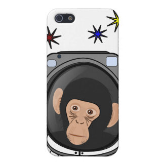 space chimp! Cute explorer Monkey - geek iphone4 iPhone SE/5/5s Case