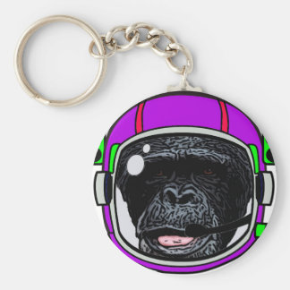 Space Chimp Keychain