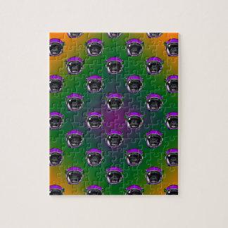 Space Chimp Jigsaw Puzzle