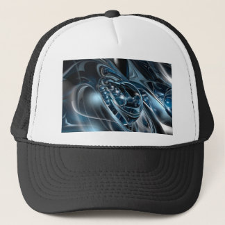 Space Chrome Trucker Hat