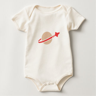 Space Classic Logo for Baby/Infant Creeper